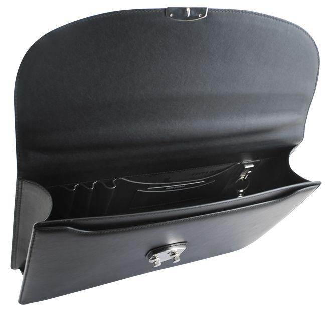 Портфель односекционный Neri Karra, черный