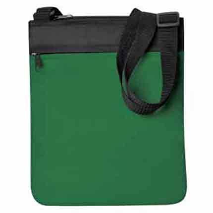 """Промо сумка на плечо """"Simple"""", цвет зеленый"""