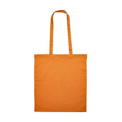 """Сумка для покупок из хлопка """"Eco"""", 38х42 см, цвет оранжевый"""
