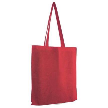 """Сумка для покупок из хлопка """"Eco"""", 38х42 см, цвет красный"""