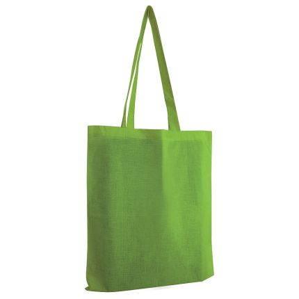 """Сумка для покупок из хлопка """"Eco"""", 38х42 см, цвет зеленый"""