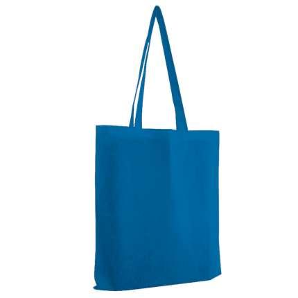 """Сумка для покупок из хлопка """"Eco"""", 38х42 см, цвет синий"""