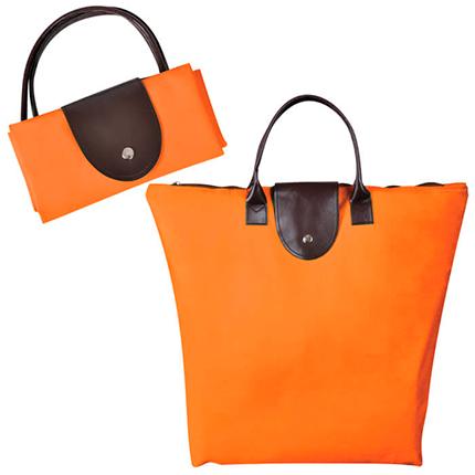 """Сумка для покупок, """"Glam UP"""", оранжевая"""